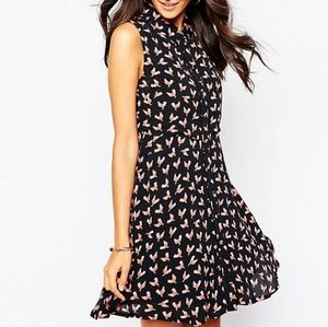 Asos Red Rooster Dress